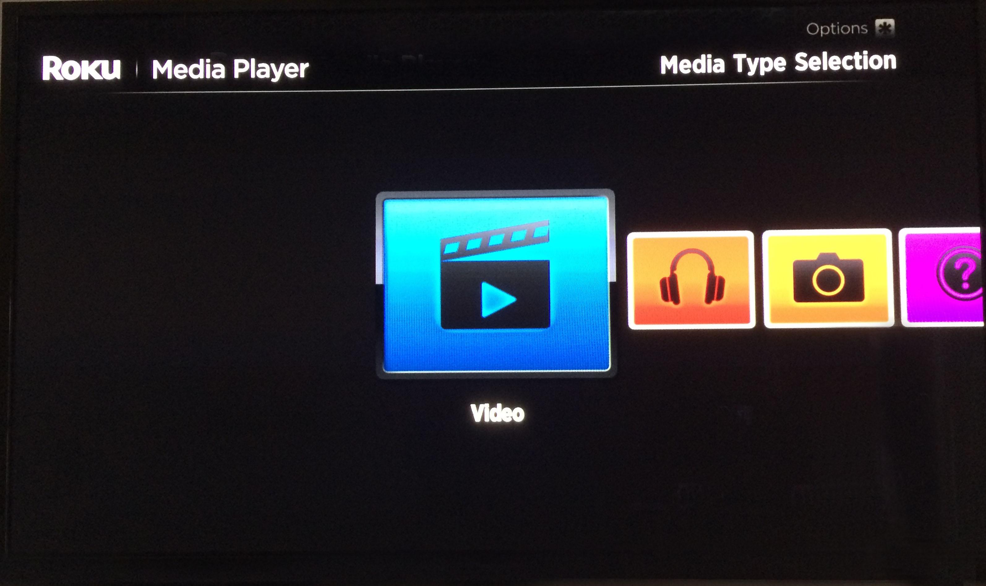Roku Media Player Formats