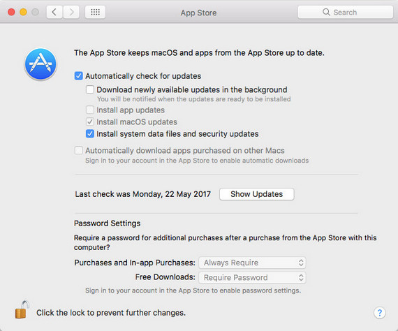 Check Mac Apps Updates