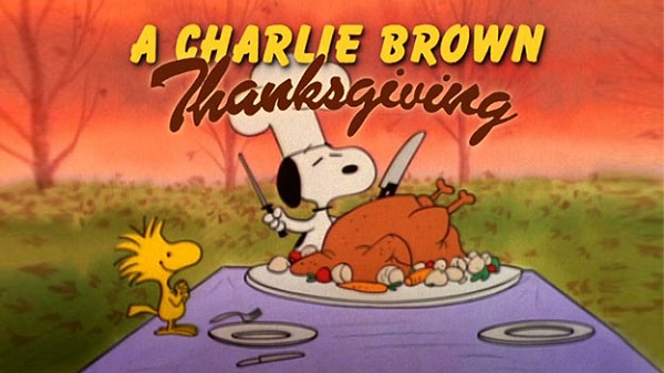 A Charlie Brown Thanksgiving - movies for Turkey day
