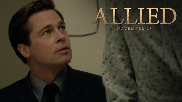 Movies release in Nov 2016 - Allied