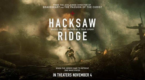 November 2016 Movie Releases - Hacksaw Ridge