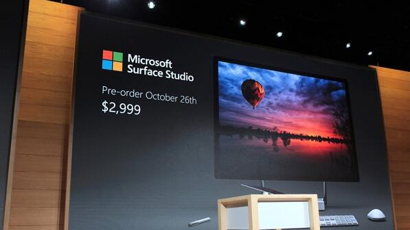 Microsoft Surface Studio Price