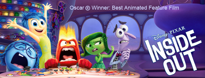 2016 Oscar® Best Animated Feature - Inside Out