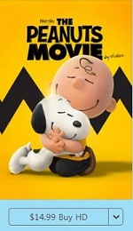 Purchase The Peanuts Movie from iTunes store