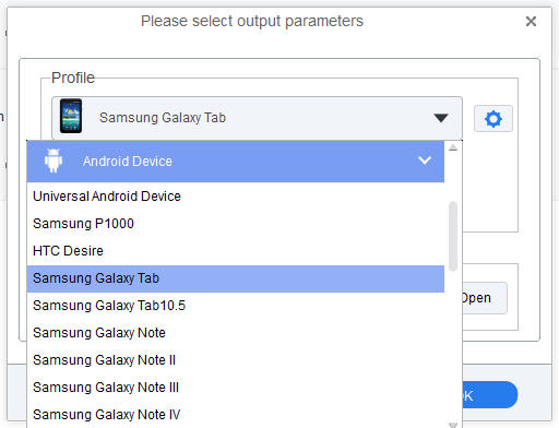 Convert iTunes movies for Galaxy Tab